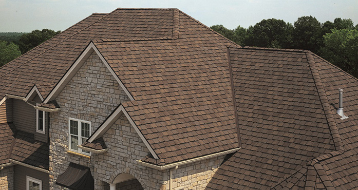 Roofing materials by back construction in lexington kentucky for Most expensive roof material