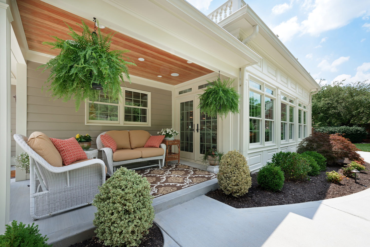 Back construction awarded best of houzz for design and service for Porches login